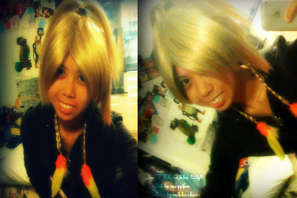 Rikku Wig and 50k Views by KuchikixRukia