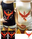 . Team Valor Shirts . by KuchikixRukia