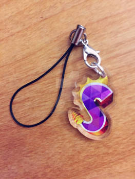 Spyro The Dragon: Acrylic Charm
