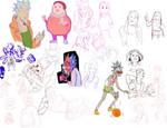 Drawing fump