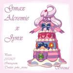 Fusion- Gmax Alcremie X Jynx