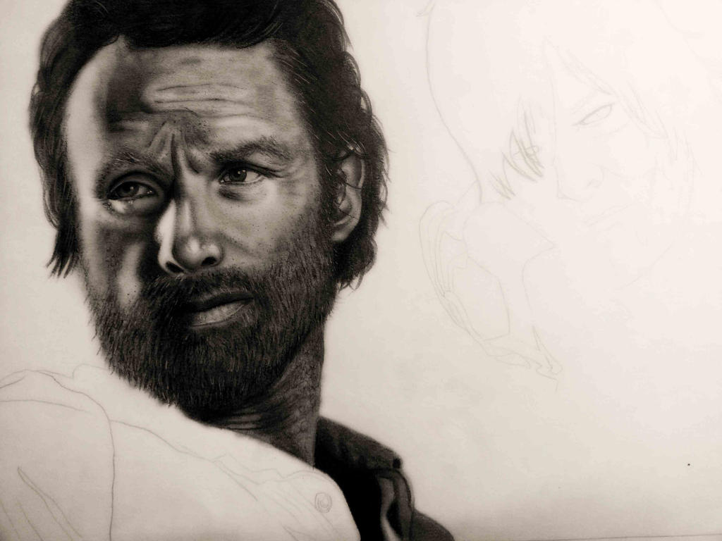 WIP - The Walking Dead by cottoncookie