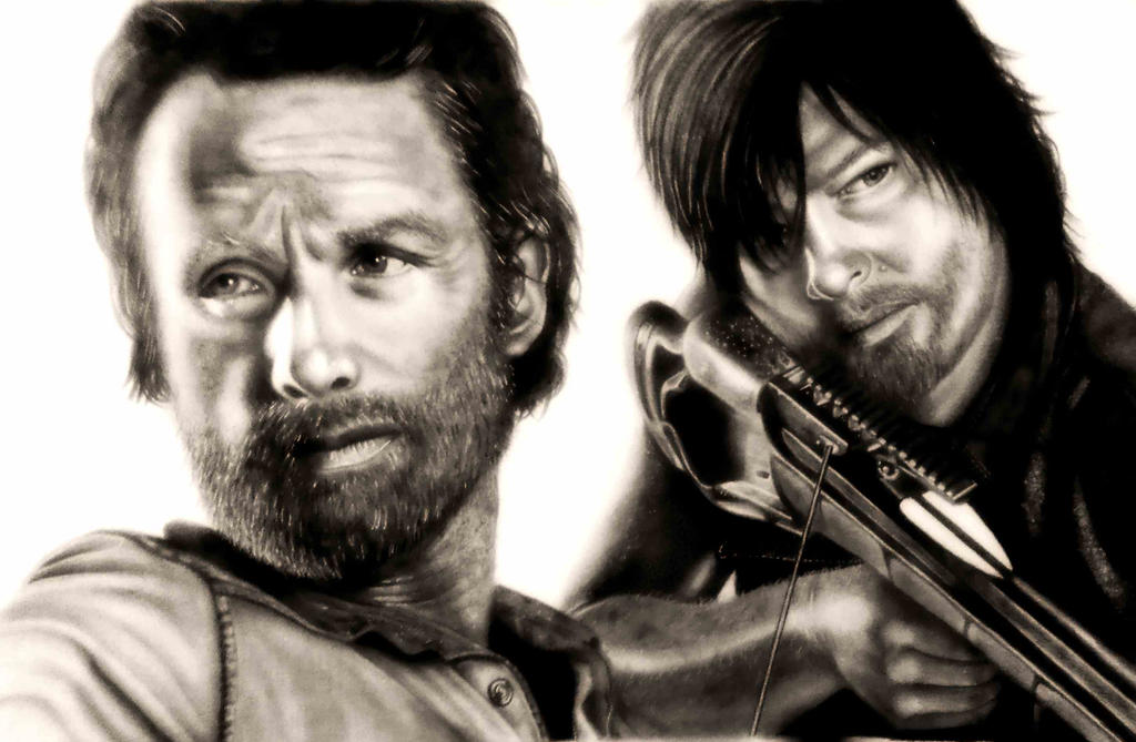 The walking dead by cottoncookie