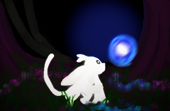 The Blind Forest - paint shop by cottoncookie