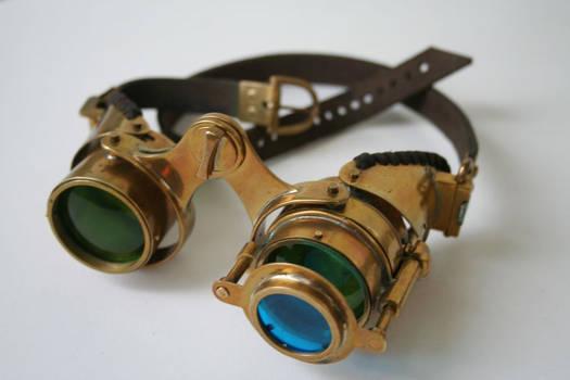Steampunk goggles 'N-axis'2