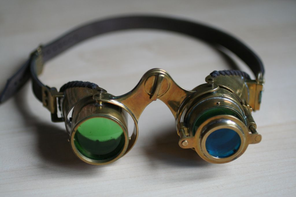 Steampunk goggles 'N-axis'4 by Gogglerman on DeviantArt