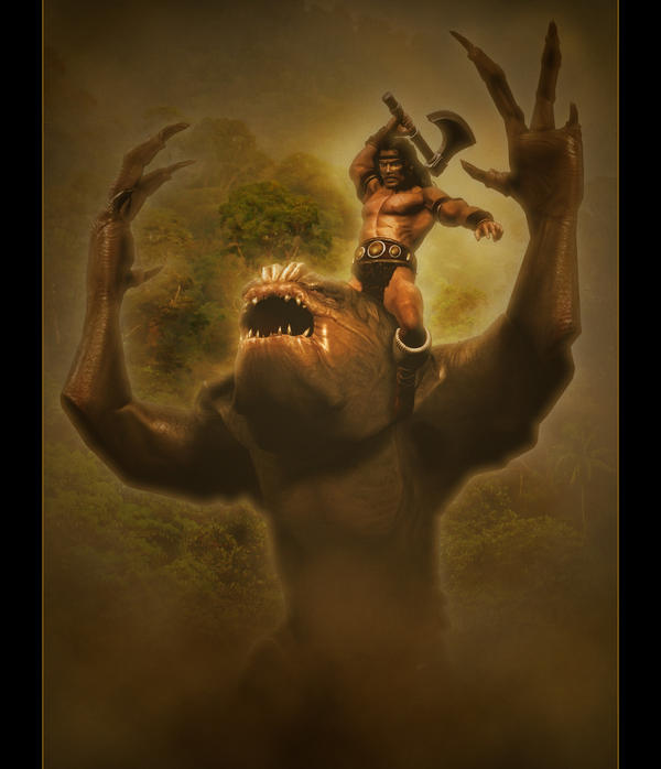 Swamp Keeper II by Vehemel