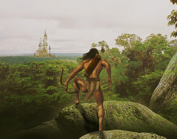 The Lost City.... by Vehemel