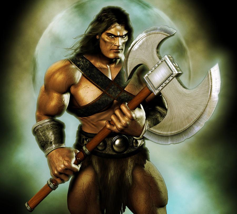 A Barbarian II by ~Vehemel