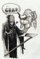 Cupid and Death by RichardCox