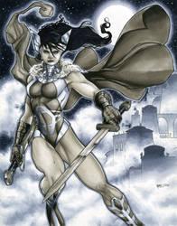 Sif, Shieldmaiden of Asgard by RichardCox