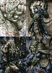 Marvel 70th Sketch Cards -v