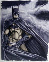 Batman Con Sketch HC 2010 by RichardCox