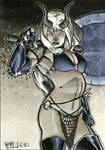 Darkchylde Sketch Card