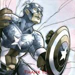 Capt. America Sketchbk Drawing