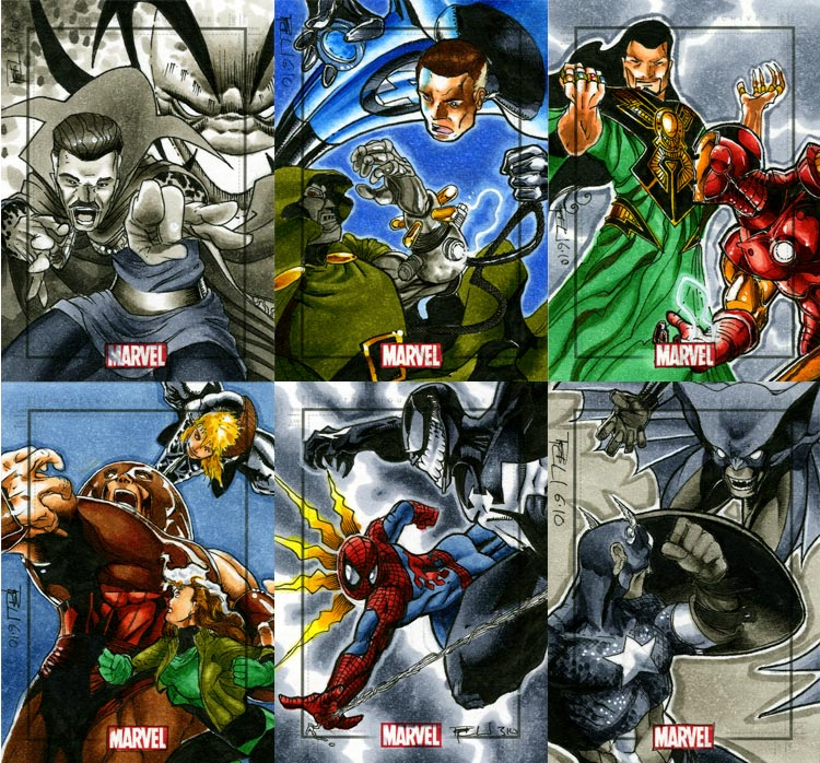 Marvel Heroes and Villains 10 by RichardCox