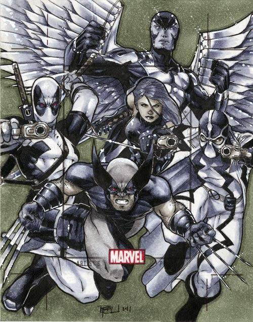 Uncanny X-Force MHV AP by RichardCox
