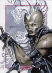 Storm Marvel Divas Sketch Card