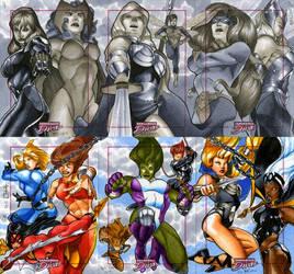 Marvel Dangerous Divas 11 by RichardCox