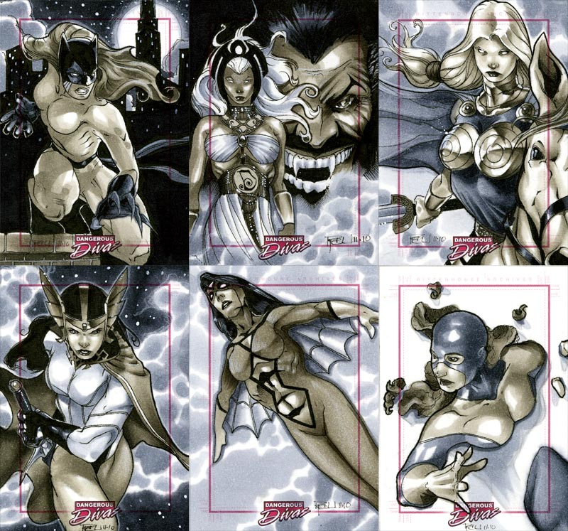 Marvel Dangerous Divas 14 by RichardCox