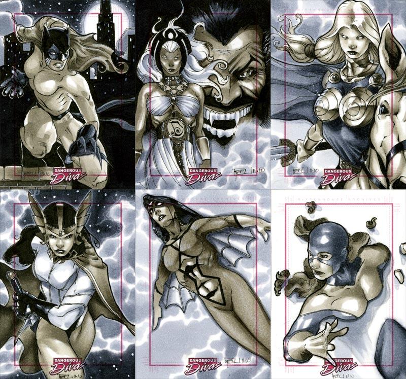Marvel Dangerous Divas 14 by RichardCox