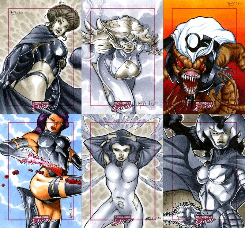 Marvel Dangerous Divas 15 by RichardCox