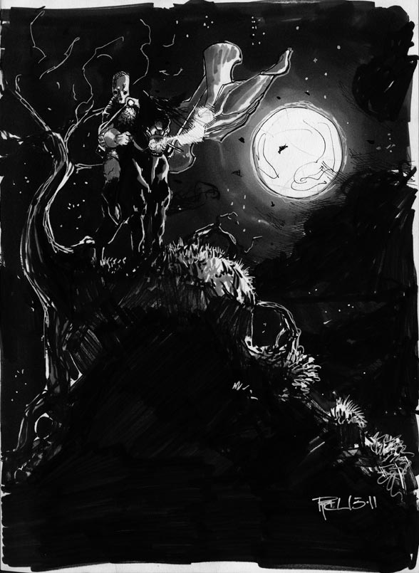 Dark Rider by RichardCox