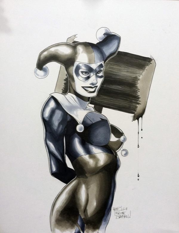 Harley Quinn HC 2011 Sketch by RichardCox