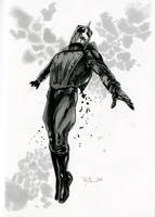 The Rocketeer DnD Sketch by RichardCox