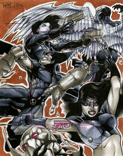 X-Force Marvel Dang Divas AP by RichardCox