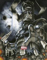 Galactus Marvel Universe Artists Proof