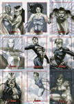 Marvel: 2012 Greatest Heroes Sketch Cards 09