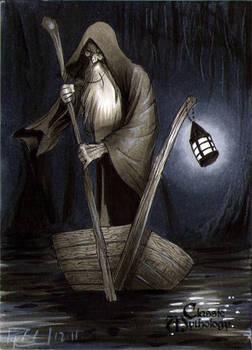 Charon Classic Mythology Sketch Card