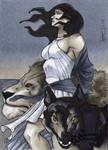 Circe Classic Mythology Sketch Card