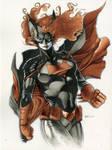 Batwoman Drawing