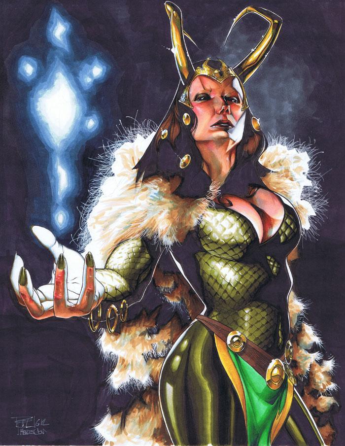 Loki Heroes Con Auction 2012 by RichardCox