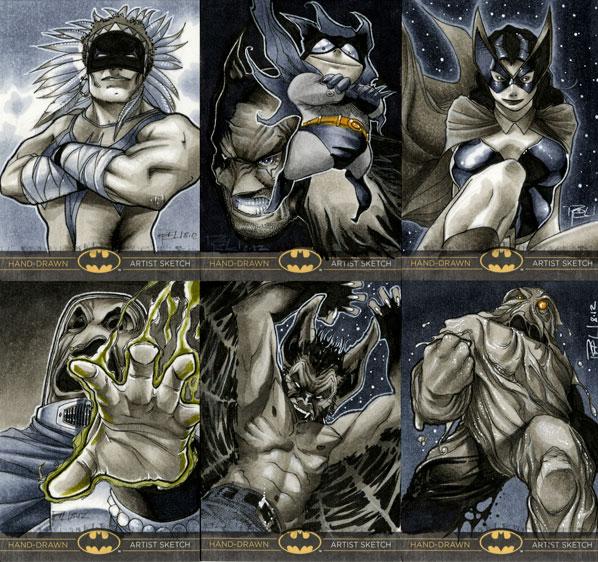 Batman: The Legend Sketch Cards 03 by RichardCox