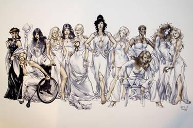 Women Of DC Recreation by RichardCox