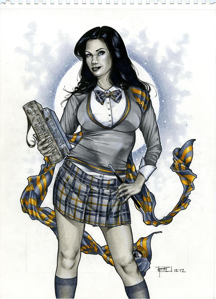 Zatanna in Ravenclaw by RichardCox