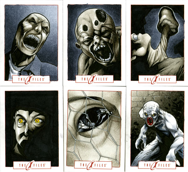 X-Files Sketch Cards 03 by RichardCox