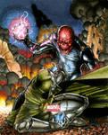 Dr. Doom vs Red Skull Marvel Universe AP