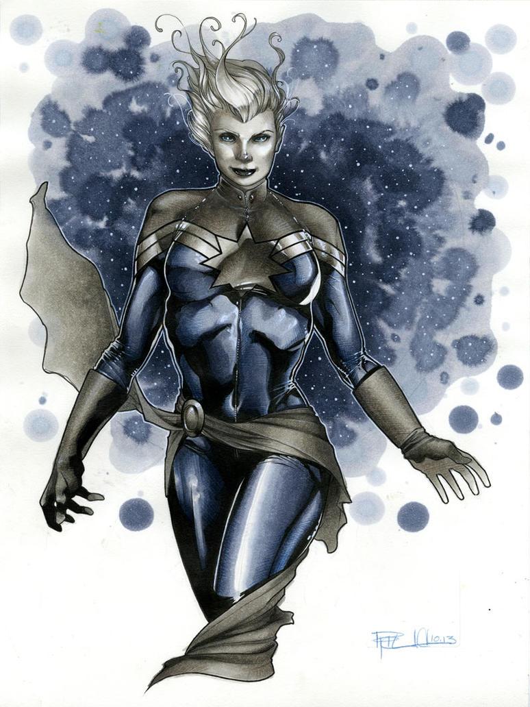 Captain Marvel by RichardCox