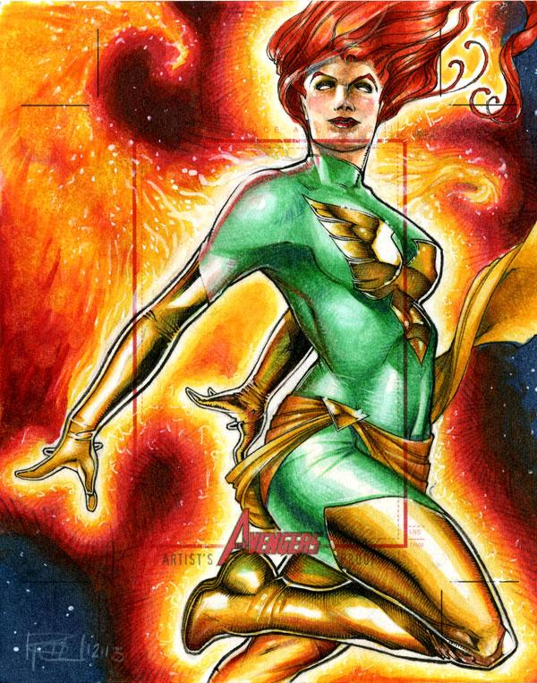 Phoenix Marvels Greatest Heroes AP by RichardCox