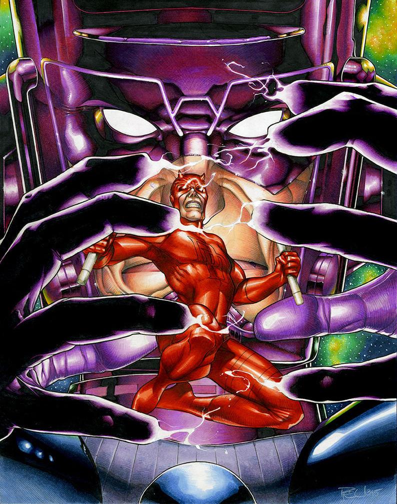 Daredevil: Herald of Galactus by RichardCox