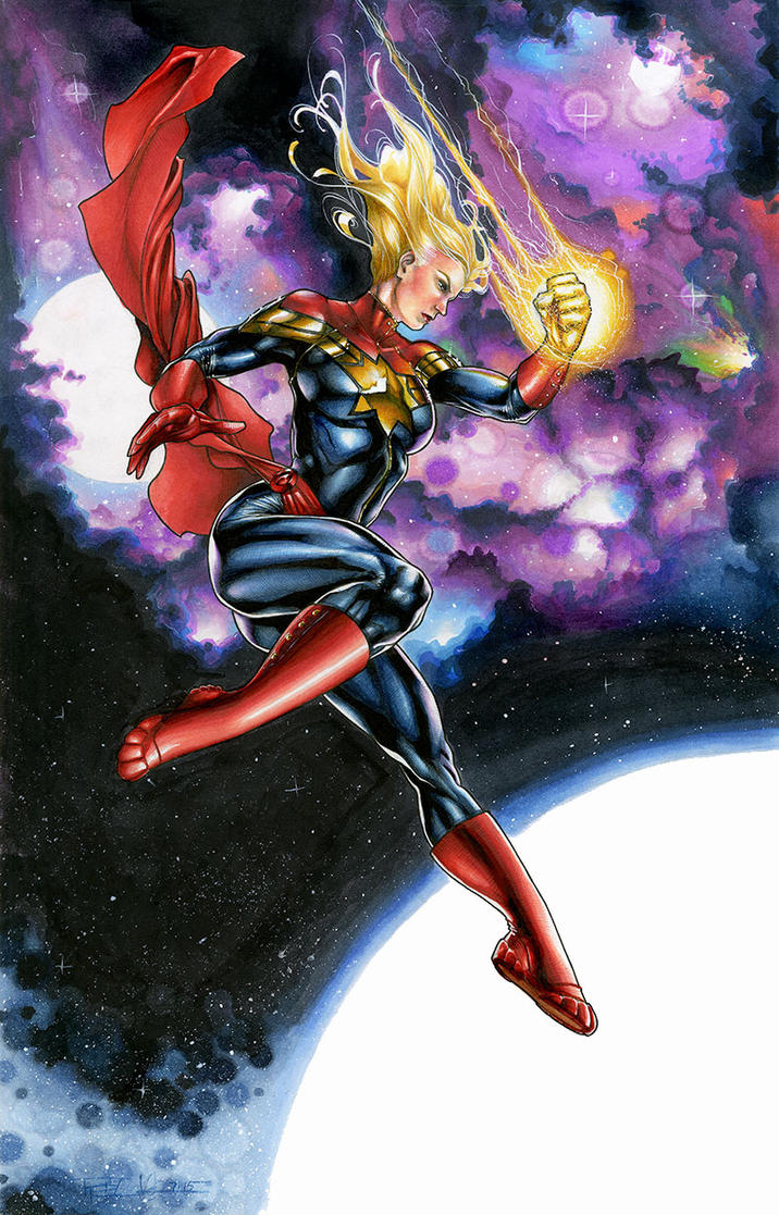Captain Marvel by RichardCox
