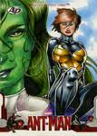 Wasp/She-Hulk ANT-MAN AP