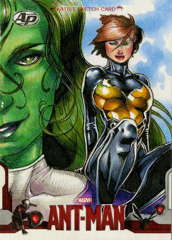 Wasp/She-Hulk ANT-MAN AP by RichardCox