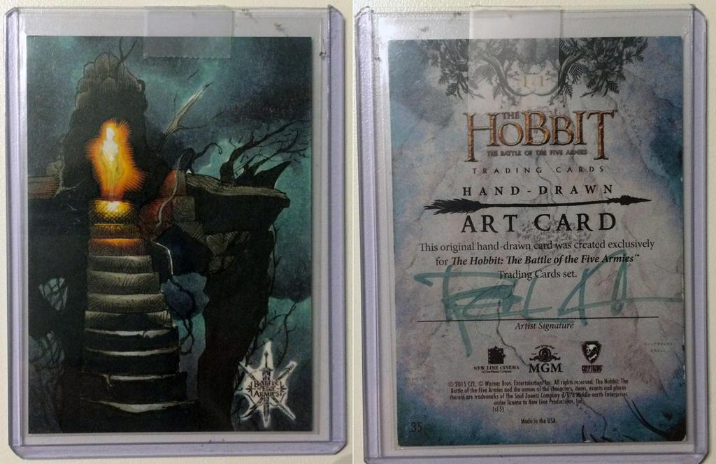 Hobbit: B5A Artists Return by RichardCox