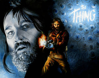 R.J. MacReady (THE THING) by RichardCox