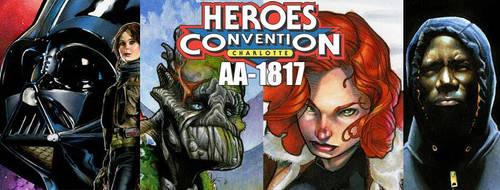 Heroes Con! by RichardCox